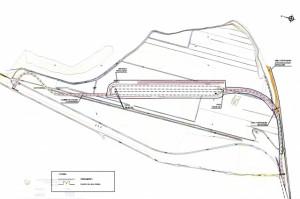 Plano de la estación intermodal de la Armentera. Foto S.E.