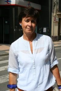 Maqui Bourgón, presidenta en el Cinca Medio. Foto S.E.