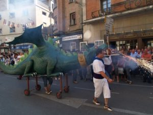 El dragón Belain. Foto JLP.