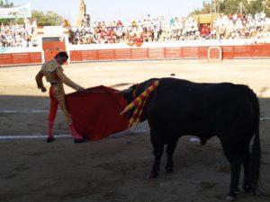 Fran Rivera toreará en Barbastro. Foto JLP.