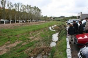 Cauce del Sosa en Monzón. Foto S.E.