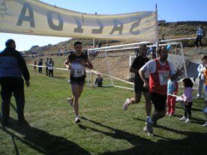 Entrada de los corredores en meta. Foto S.E.