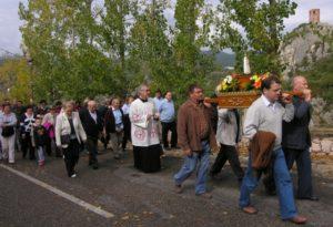 Romeria de la Mancomunidad El Grado de 2008. Foto S.E.