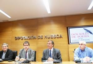 Presentación de la divulgación de los Hermanos Argensola. Foto S.E.