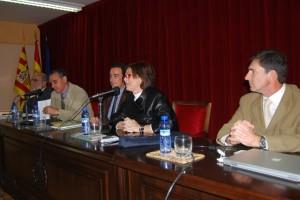 Acto de apertura de la Universidad de la Exeriencia en Monzón. Foto JLP.
