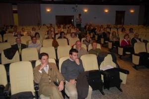 Estudiantes de la Universidad de la Experiencia en Barbastro. Foto JLP.