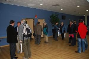 El Centro de Congresos acogió el encuentro de montañeros. Foto JLP.