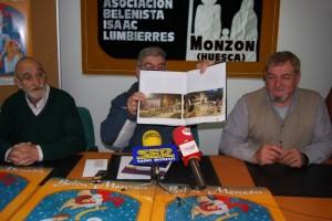 El Belén de Monzón en el catálogo nacional. Foto JLP.