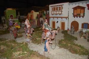 Los Reyes Magos del Belén de Monzón. Foto JLP.