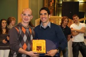 Óscar Espier y Eliseo Martín. Foto A.M.