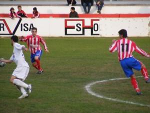 Partido disputado ante el Andorra. Foto R.S.