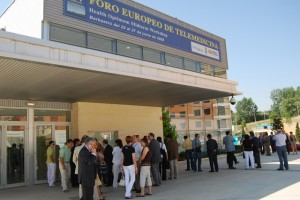 El Centro de Congresos acogió un foro europeo sobre telemedicina. Foto JLP.