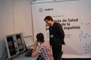 Exposición sobre telemedicina. Foto JLP.