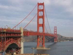 Las vistas desde el Golden Gate Bridge son espectaculares. Foto S.E.