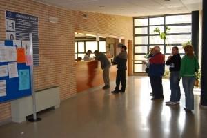 Centro de salud de Monzón. Foto JLP.