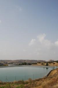 Depósito de agua de Monzón. Foto JLP.