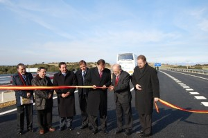 Inauguración de la autovía. Foto JLP.