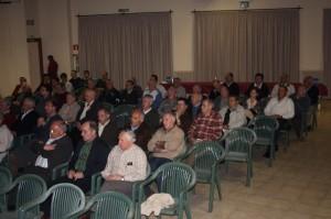 Socios de la SMA en la asamblea.