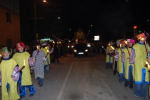 Cabalgata real en Barbastro. Foto JLP.