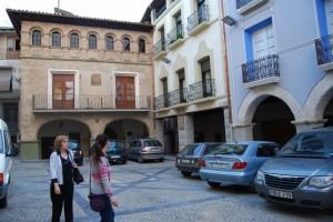 Ayuntamiento de Estadilla. Foto JLP.