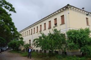Casa diocesana de San Ramón de Barbastro. Foto JLP.