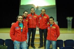 Cinco de los seis miembros de COANFI. Foto JLP.