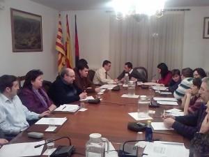 Sesión plenaria de Monzón. Foto R.S.