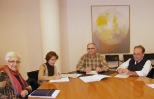 Reunión de la comisión de iniciativas locales.