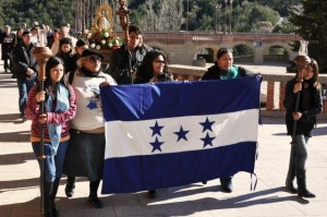 Peregrinacion hondureña a Torreciudad.