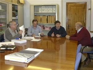 Reunión celebrada en Benasque. Foto S.E.