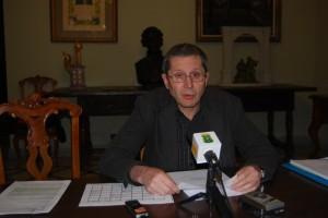 Santiago Lisa, concejal de Cultura. JLP.