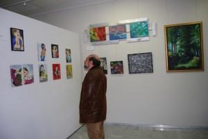 El Centro de Congresos acogió el año pasado una muestra de arte joven. Foto JLP.