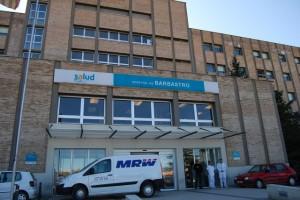 Hospital de Barbastro. JLP.