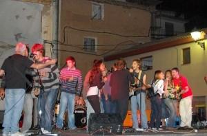 Actuación en El Grado en 2008.