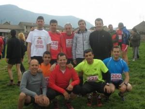 Grupo de atletas de Osán.