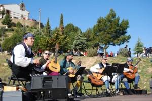 Aires Monegrinos puso la nota musical. JLP.