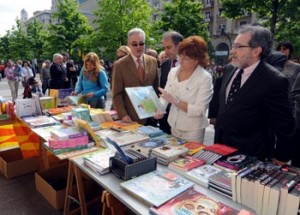 Broto en la Feria del Libro.