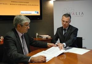 Acuerdo entre Avalia y el Banco Sabadell.