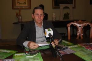 Santiago Lisa concejal de Cultura. JLP.