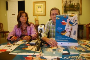 Cartel de la Fiesta del Libro. JLP.