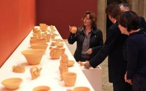 Muestra de cerámica en Huesca.