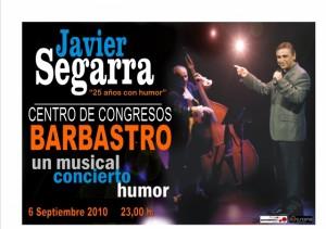 Cartel de Javier Segarra.