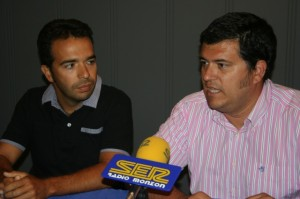 Jesús Guerrero y Joaquín Palacín.