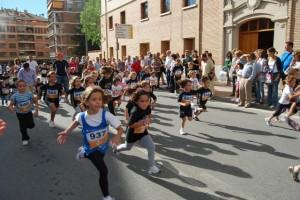 Los más pequeños también corrieron. JLP.
