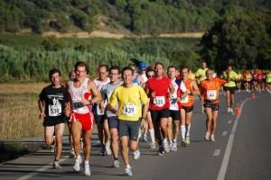 Unos 550 corredores participaron en la prueba. JLP.