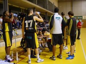 Jugadores del Cosehisa Monzón. G.U.