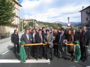 Inauguración de la travesía de Escalona.