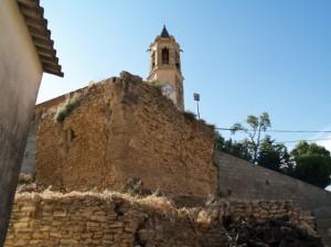 Torreón sureste, recinto amuallado de La Perdiguera.