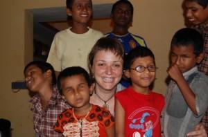 Eva trabaja con la ONG Asociación Amigos del Orfanato Estrella de la Mañana.