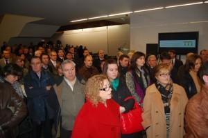 Numeroso público acudió a la inauguración. JLP.